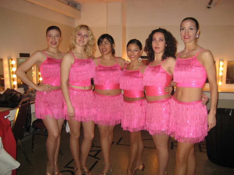 Staff Performing a Show at the Curacao Corporation Holiday Show