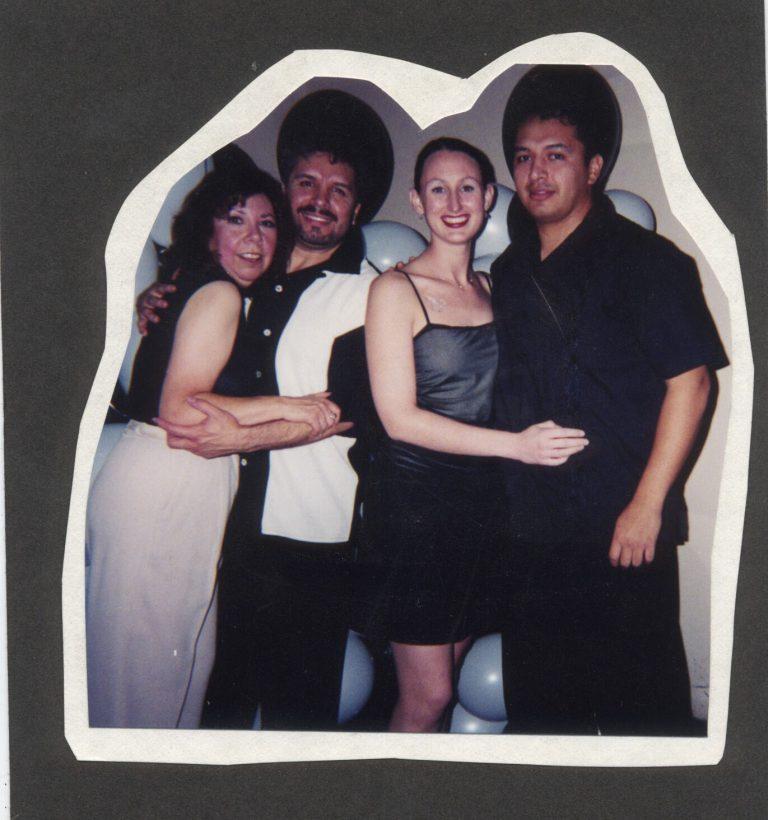 Linda, Fonzie, Christina Hector