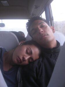 Vanessa & Tomas Sleeping