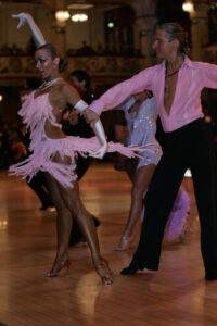 Michelle Hafle as a Pro at the UK Championships