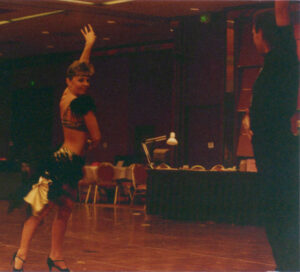 Michelle French doing Samba