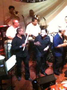 Maraca, Ray de la Paz, and Polanco's band