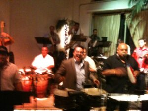 Tito Puente Jr. with Johnny Polanco
