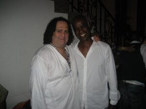 Alfredo de la Fe and former Alvin Ailey student Dr Seth Mittleman